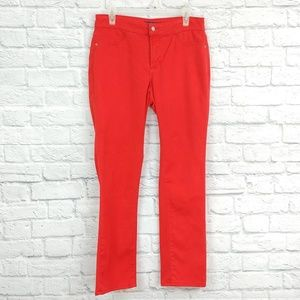 NYDJ | Red Straight Leg Legging Jeans